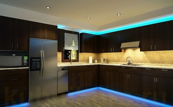 Осветление за кухня - полезни съвети от МЕБЕЛИ 1